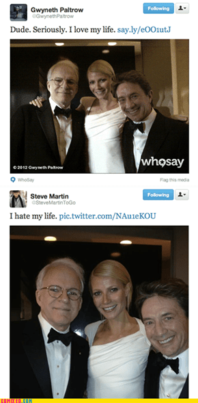 Celebrities Take the Good and Bad