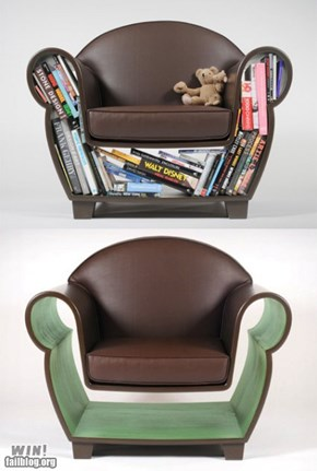 WIN!: Book Chair WIN