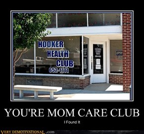 YOU'RE MOM CARE CLUB