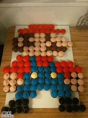 Mario Cupcakes WIN