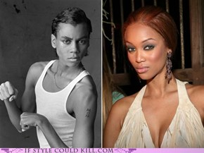 Saturday Night Tyra: Separated at Birth!