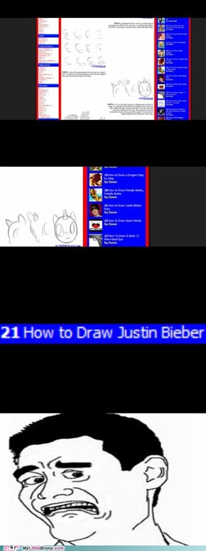 I was just searching how to draw ponies.....but then....