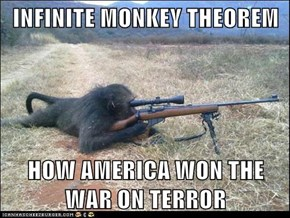 INFINITE MONKEY THEOREM  HOW AMERICA WON THE WAR ON TERROR