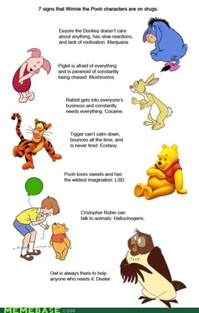 Childhood Destroyed: Winnie the Pooh