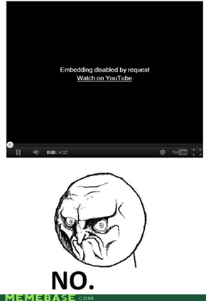 "One Does Not Simply ""Watch on YouTube"""