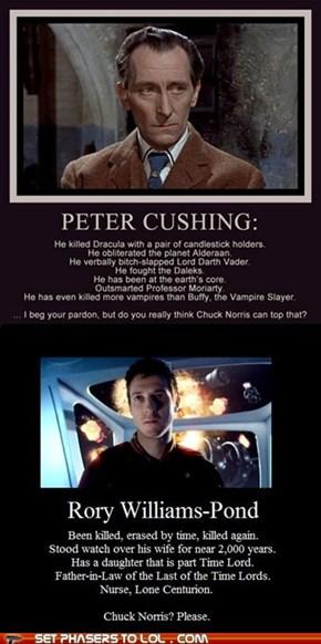 Chuck Norris? Please.