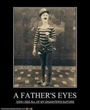 A FATHER'S EYES
