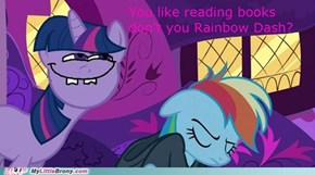 You're an egghead Rainbow Dash