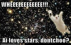 WHEEEEEEEEEEEE!!!  Ai loves stars, dontchoo?