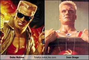 Duke Nukem Totally Looks Like Ivan Drago (Dolph Lundgren)