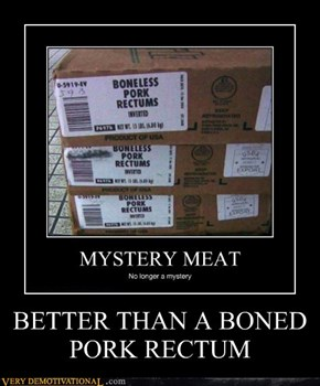 BETTER THAN A BONED PORK RECTUM