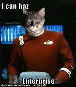 I can haz  Enterprise