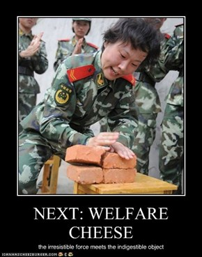 NEXT: WELFARE CHEESE