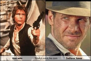 Han solo Totally Looks Like Indiana Jones