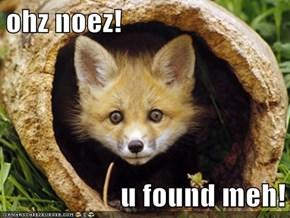 ohz noez!  u found meh!
