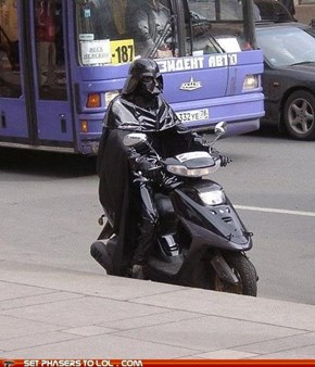 Darth Vader Affected by Economy