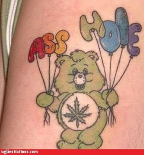Stoner Care Bear Doesn't Like You