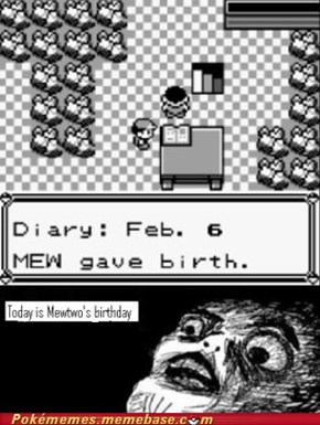 Happy Birthday Mewtwo!