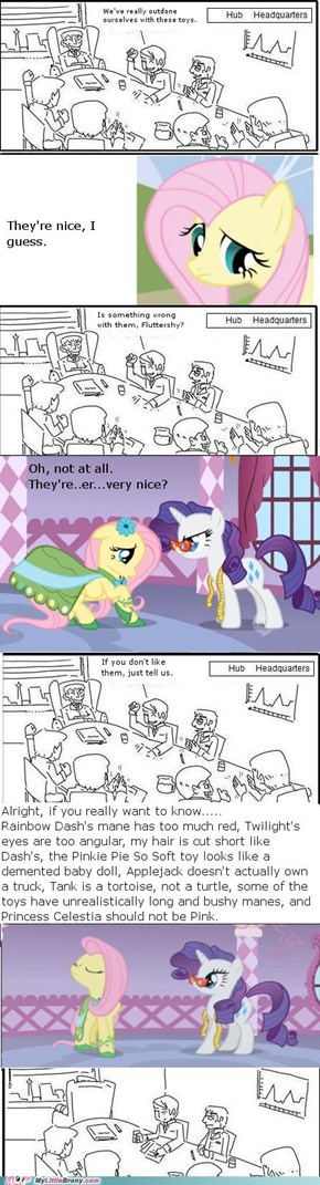 Fluttershy Makes the Decisions