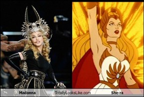 Madonna Totally Looks Like She-ra
