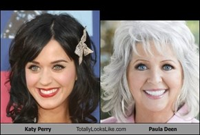 Katy Perry Totally Looks Like Paula Deen