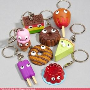 Yummy Dessert Keychains