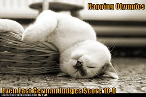 Napping Olympics  Even East German Judges Score 10.0