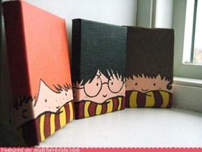 Big Head Harry Potter Characters