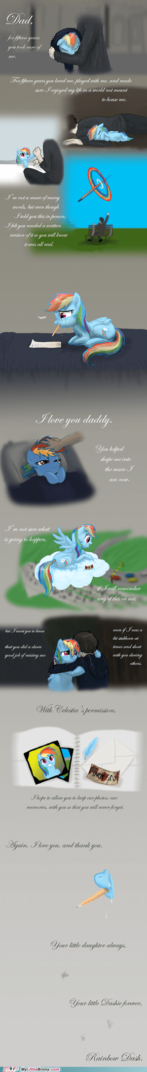 My Little Dashie's Letter