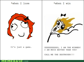 Rage Comics: When I Lose