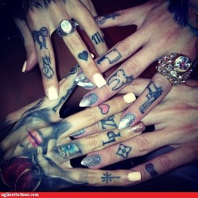 All those hands belong to one person.