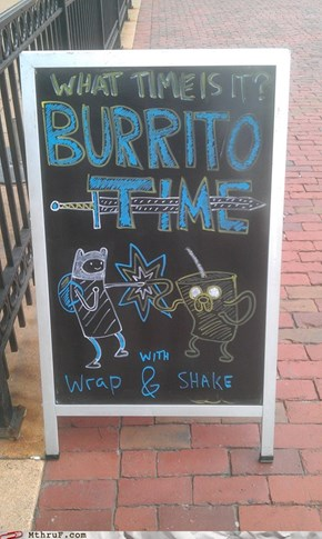 The Fun Never Ends With Burrito Time