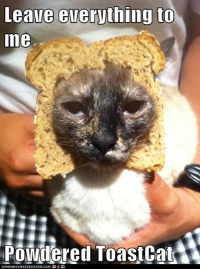 Leave everything to me  Powdered ToastCat