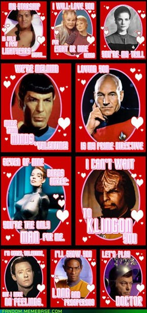 Those Clingy Klingons