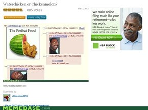 Even the Ad Likes Chickenmelon