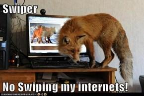Swiper  No Swiping my internets!