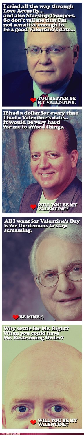 Valentines From The Guy Who Watches You Sleep