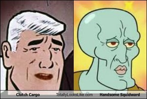 Clutch Cargo Totally Looks Like Handsome Squidward