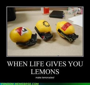 I'm the man who's going to burn your house down! With the lemons!