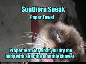 Southern Speak