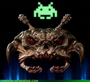 I Knew There Was a Reason I Have Space Invader Nightmares