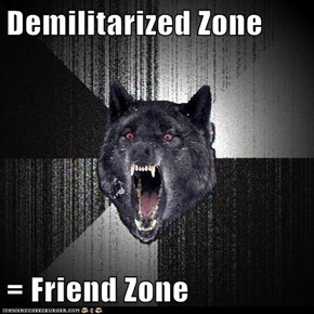 Demilitarized Zone  = Friend Zone