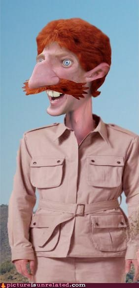 'Elllllo, I'm Nigel Thornberry