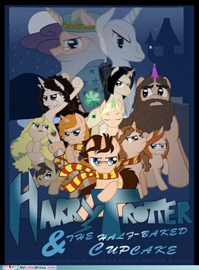 Harry Trotter movie poster.