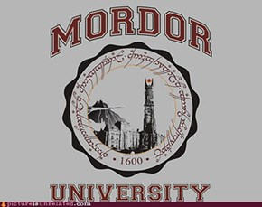 One Does Not Simply Get Accepted Into Mordor