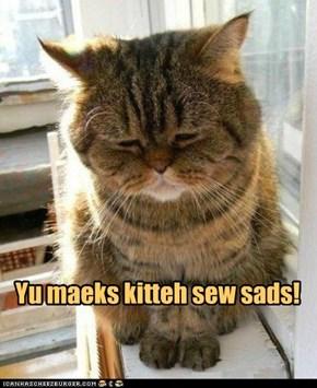 Sew sads!