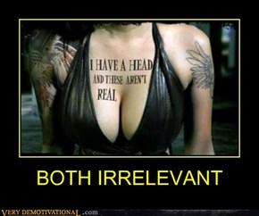 BOTH IRRELEVANT