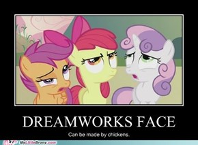 Dreamworks face