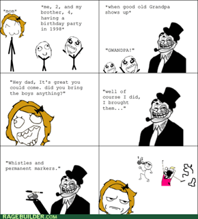 Rage Comics: This Is for Staying Out On Prom Night