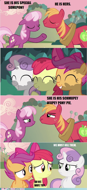 HE IS HER SMUPEY WOOPEY SWEETIE WITTLE PONY PIE